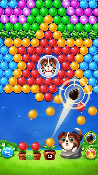 Bubble Shooter скриншот 3