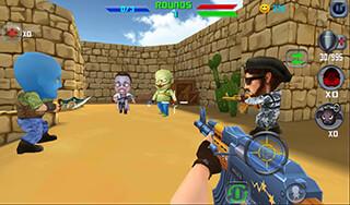 Gun Shoot War Q скриншот 2
