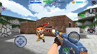 Gun Shoot War Q скриншот 3