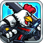 Chicken Warrior: Zombie Hunter иконка