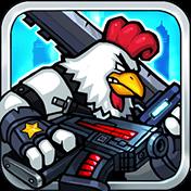 Chicken Warrior: Zombie Hunter иконка