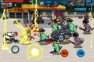 Chicken Warrior: Zombie Hunter скриншот 2