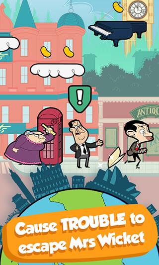 Mr Bean: Around The World скриншот 3