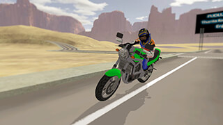 Fast Motorcycle Driver 2016 скриншот 1
