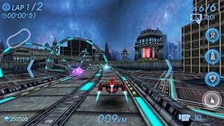 Space Racing 3D: Star Race скриншот 1