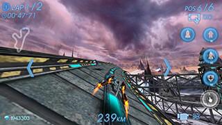 Space Racing 3D: Star Race скриншот 2