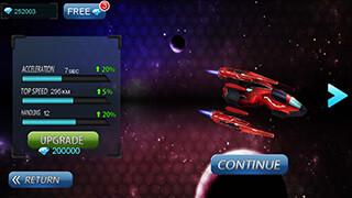 Space Racing 3D: Star Race скриншот 3