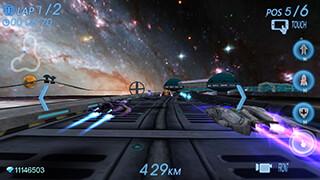 Space Racing 3D: Star Race скриншот 4