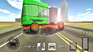 Extreme Car Driving: Pro 2015 скриншот 4