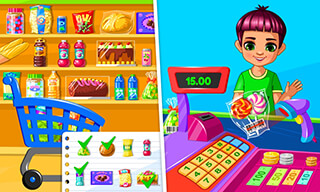 Supermarket: Game For Kids скриншот 2
