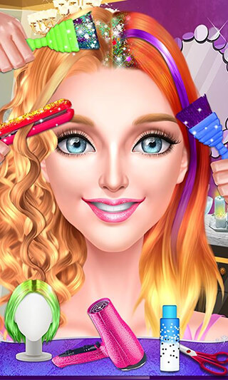 Pop Star Hair Stylist Salon скриншот 1