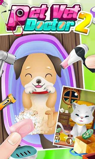 Baby Pet Vet Doctor скриншот 1