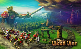 First Wood War скриншот 1