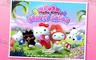 Hello Kitty: Beauty Salon скриншот 1