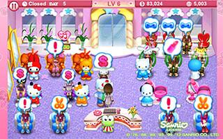 Hello Kitty: Beauty Salon скриншот 2