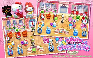 Hello Kitty: Beauty Salon скриншот 3