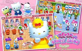 Hello Kitty: Beauty Salon скриншот 4