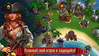 Pirate Battles: Corsairs Bay скриншот 4