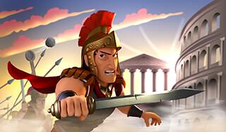 Battle Empire: Rome War Game скриншот 1