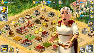 Battle Empire: Rome War Game скриншот 2