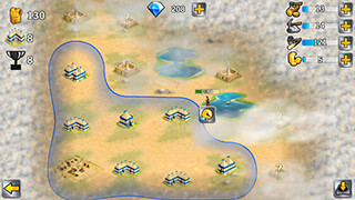 Battle Empire: Rome War Game скриншот 3