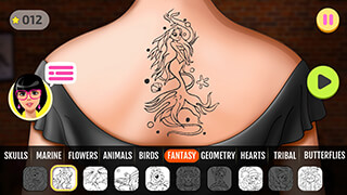 Fab Tattoo Design Studio скриншот 4