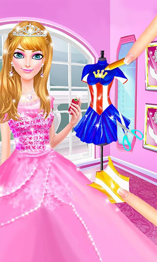Princess Power: Superhero Girl скриншот 1