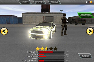 Army Extreme Car Driving 3D скриншот 3