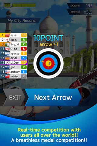 Archerworldcup: Archery Game скриншот 3