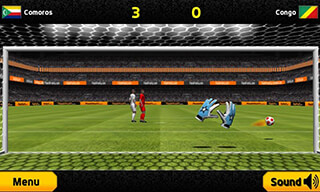 Goalkeeper: Premier Soccer Game скриншот 1