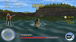 Bass Fishing 3D: Free скриншот 3