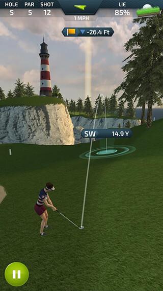 Pro Feel Golf скриншот 2