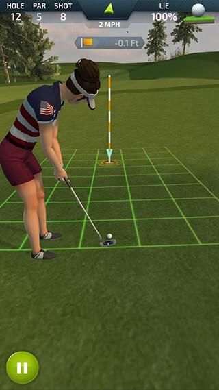 Pro Feel Golf скриншот 4