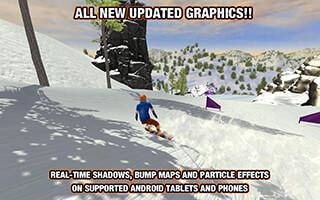Crazy Snowboard скриншот 1