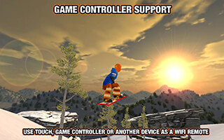 Crazy Snowboard скриншот 3