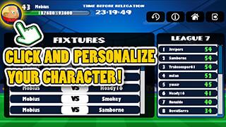 Mini Football: Head Soccer Game скриншот 1