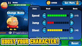 Mini Football: Head Soccer Game скриншот 2