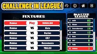 Mini Football: Head Soccer Game скриншот 4