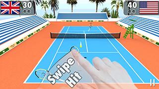 Smash Tennis 3D скриншот 1
