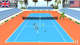 Smash Tennis 3D скриншот 4