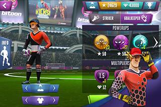 Kicksfootball Warriors-Soccer скриншот 1