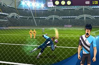 Kicksfootball Warriors-Soccer скриншот 2
