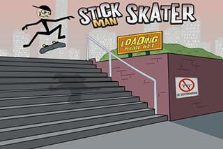Stickman Skater скриншот 1
