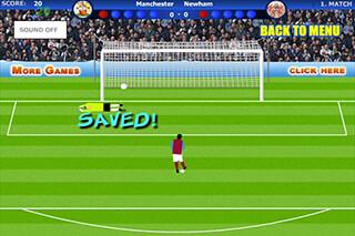 Penalty Shootout Soccer Game скриншот 2