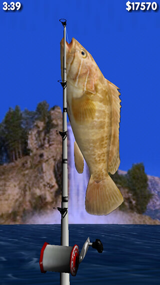 Big Sport: Fishing 3D Lite скриншот 1