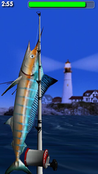 Big Sport: Fishing 3D Lite скриншот 2