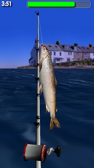 Big Sport: Fishing 3D Lite скриншот 3