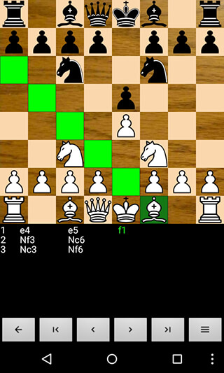 Chess For Android скриншот 2