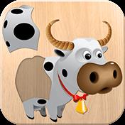 Animals: Puzzle For Kids иконка
