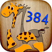 384 Puzzles For Preschool Kids иконка